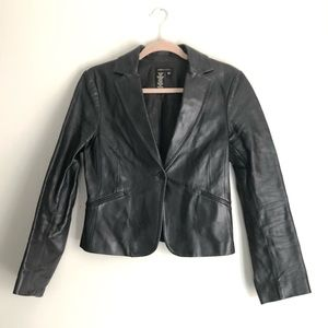 BCBG MaxAzria Leather Jacket